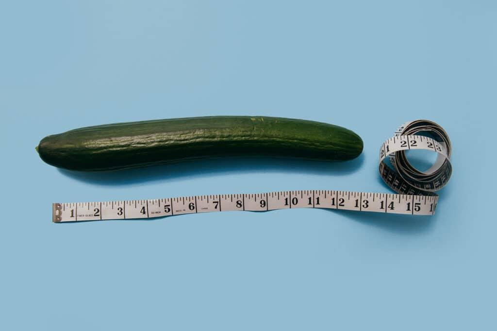measure huge dick